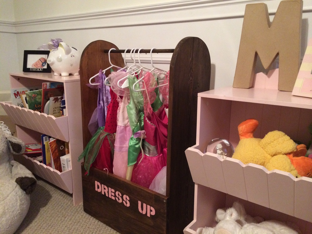 Toddler Dress Up Closet