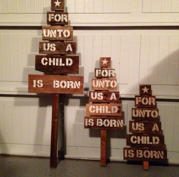 For Unto Us Tree