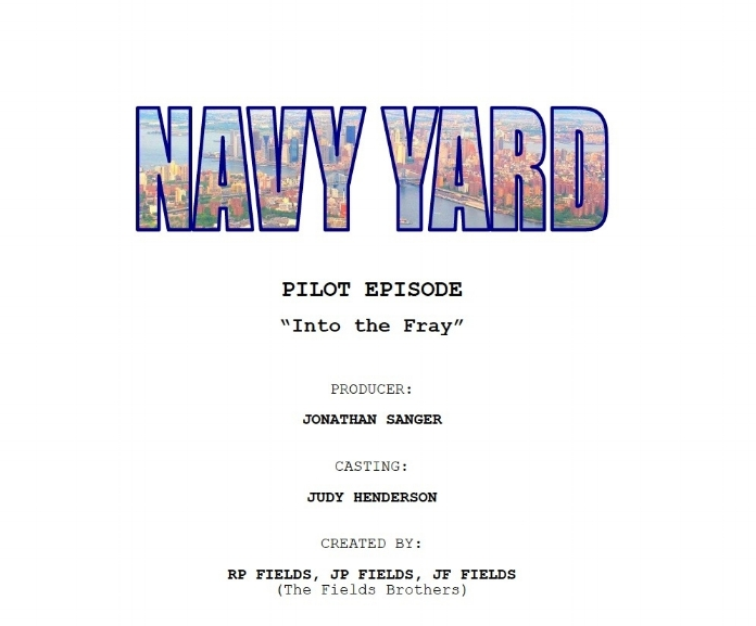 Navy Yard Pilot by The Fields Brothers Reading @ The Players Club Sept 2018