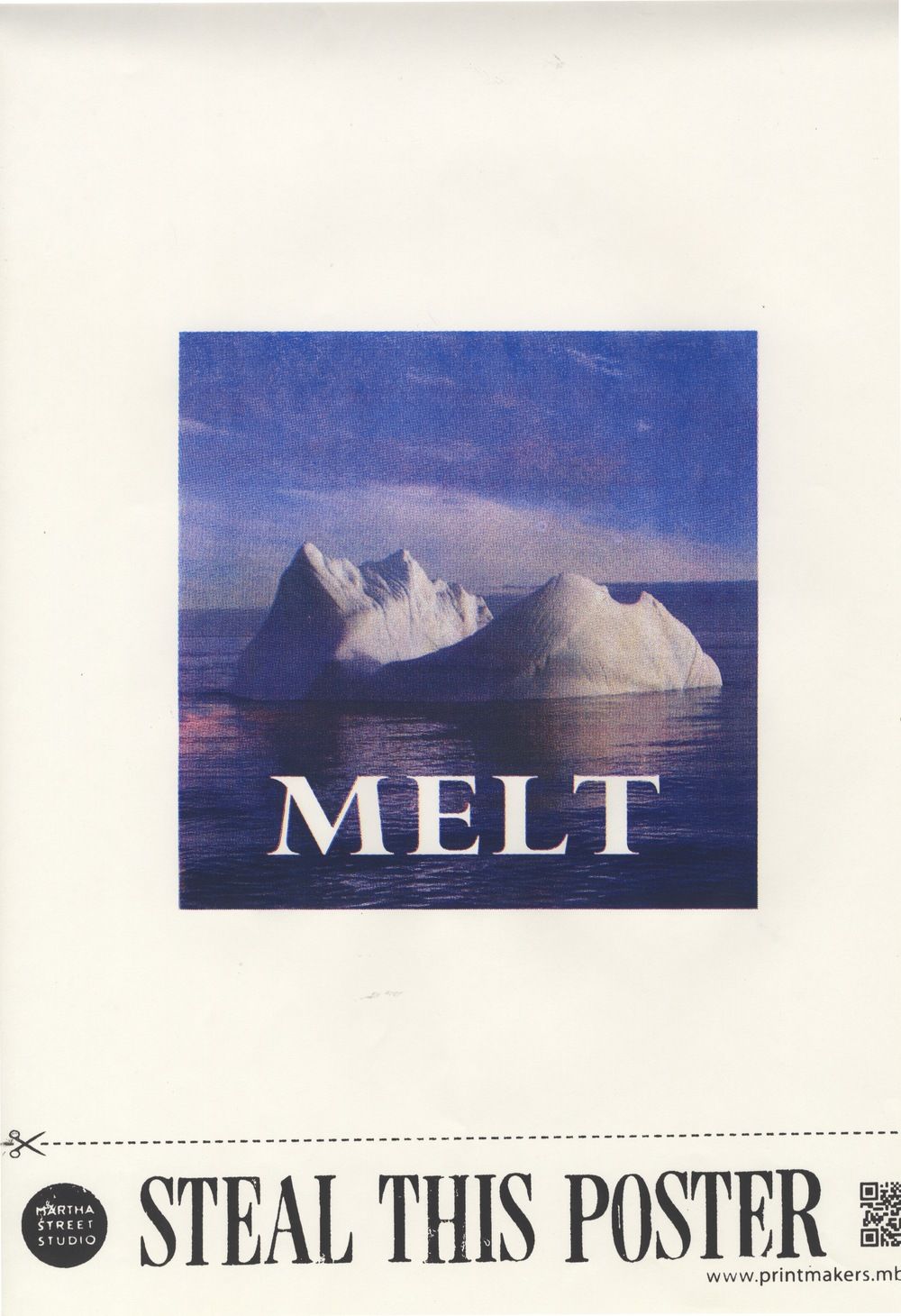 For today's CMYK offering, STEAL THIS POSTER! Photo was taken in Cumberland Sound, Nunavut in 2005.