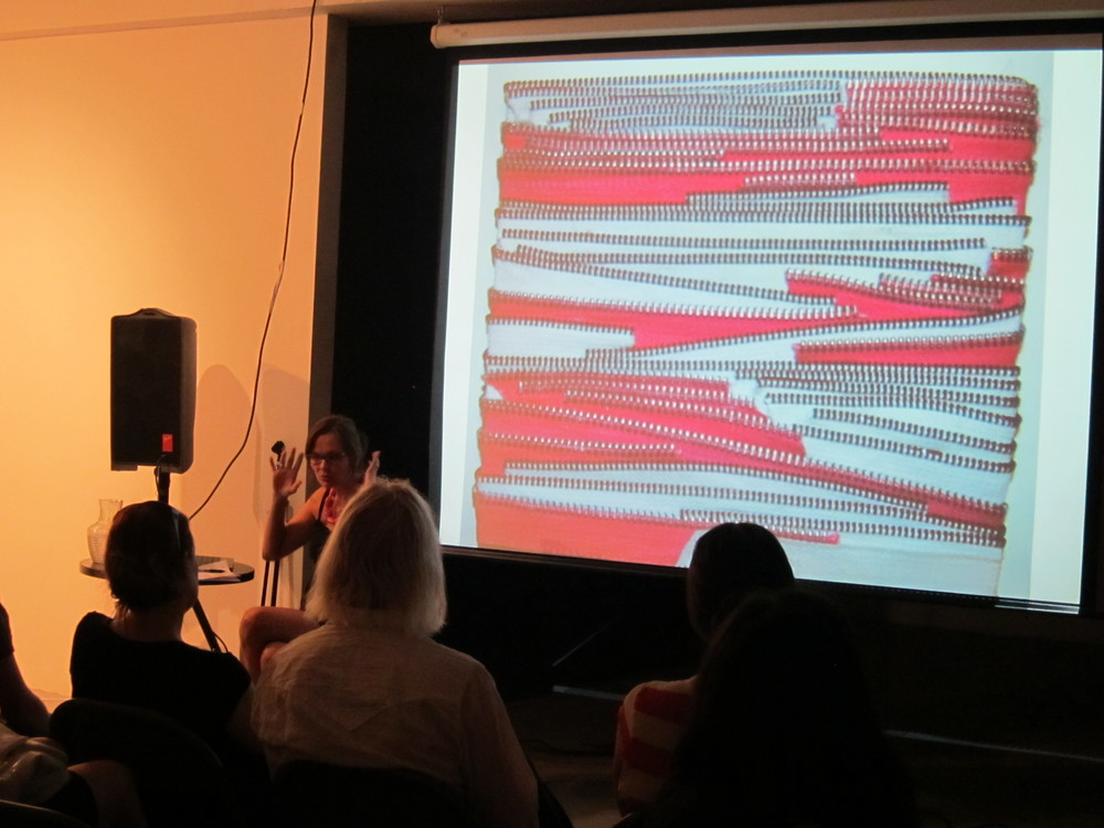 Public presentations given at EFA one year after the residency, August 2011