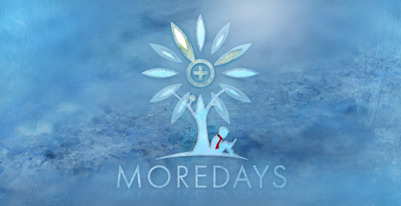 Our  Moredays.com  logo freezes ;-)