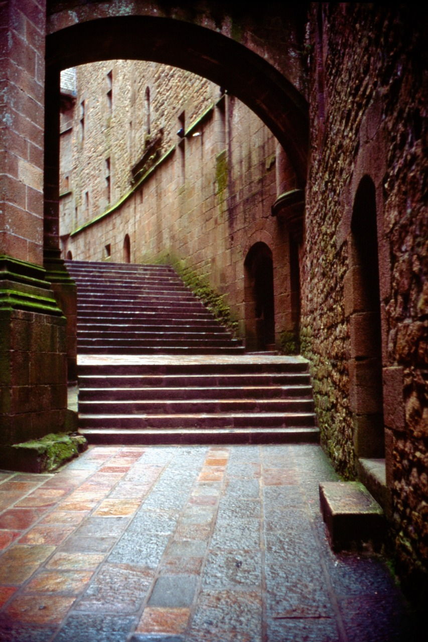 Mont Saint Michel, France on my Leica M7 and Fujifilm Velvia