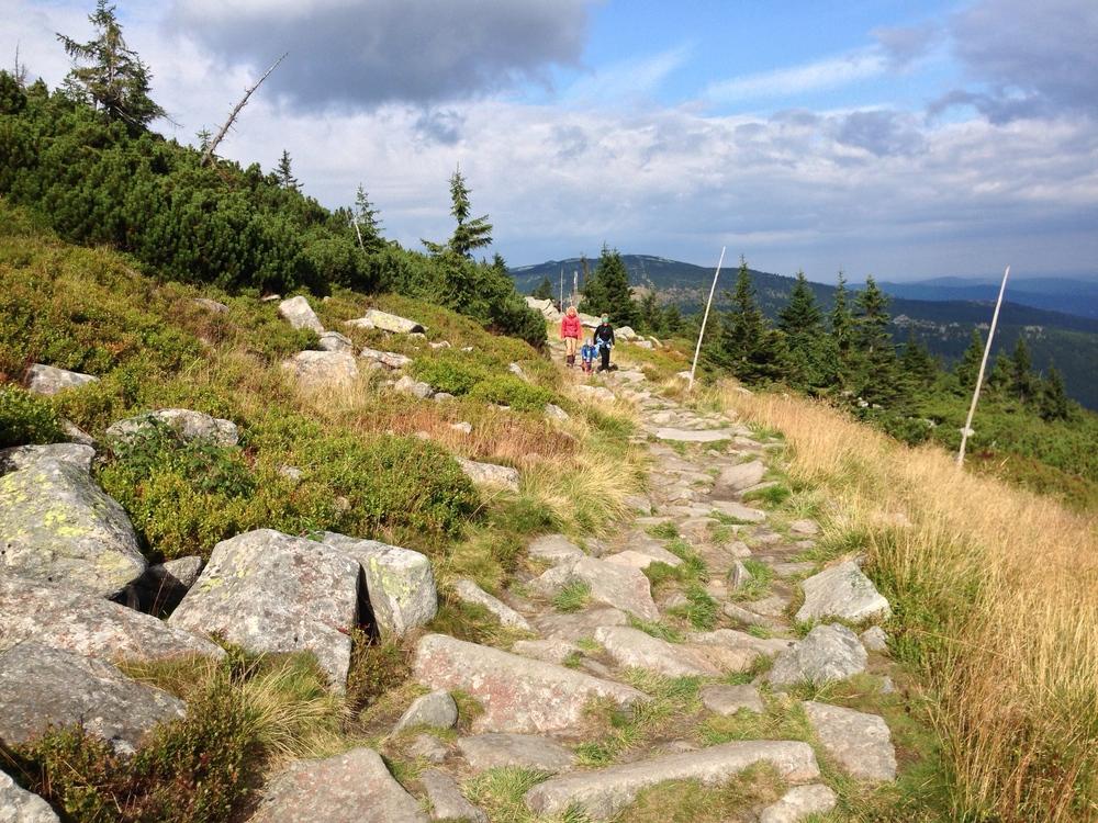 Family trip to Giant Mountains