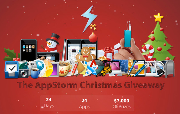 I've just kicked off a huge new giveaway on Mac.AppStorm.