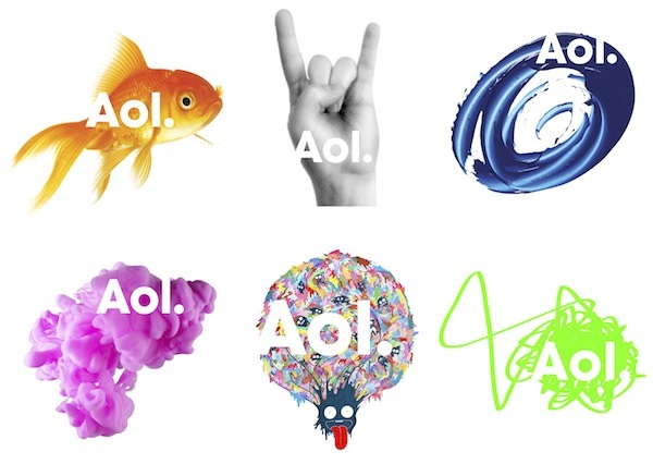 A clear example of groupthink, where no-one had the common sense to point out that this a ridiculous departure from AOL's brand strength and bears no resemblance to what the company does. No surprises that it was designed by Wolff Olins, the company behind the nightmarish London 2012 logo.