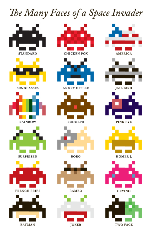 Who would have thought that Space Invaders could convey so many emotions? (via advantagelogan)