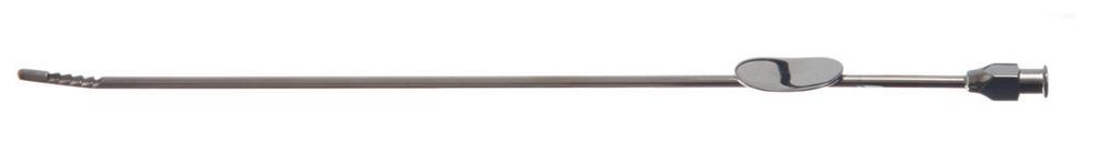 LM0512011 Novak Curette  24cm luer lock, 100 per doos