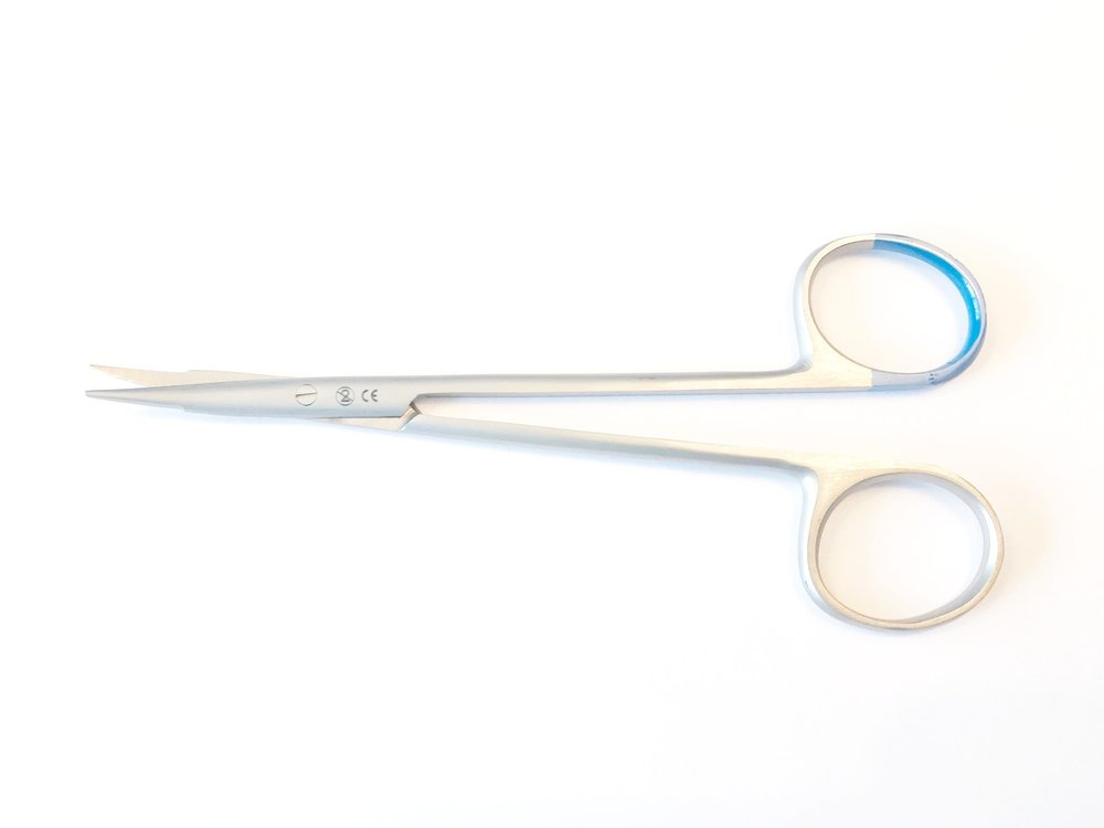 LM0203177  Jameson dissecting scissors, curved, 15 cm