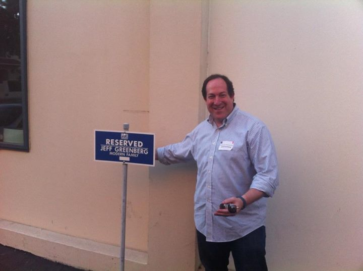 Ok, it's not my spot. There's a Jeff Greenberg who is a casting director.