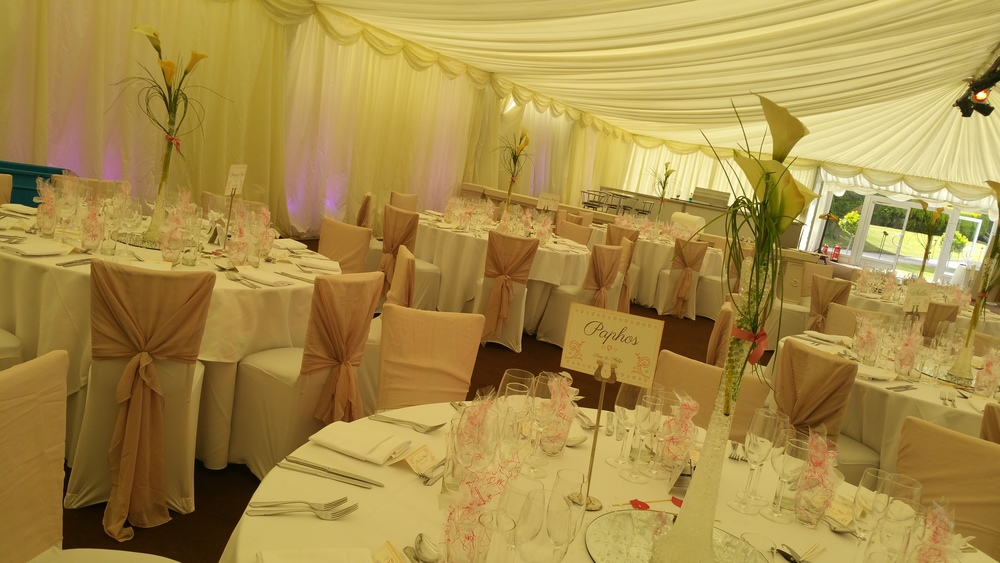 chaircovers at thornton manor