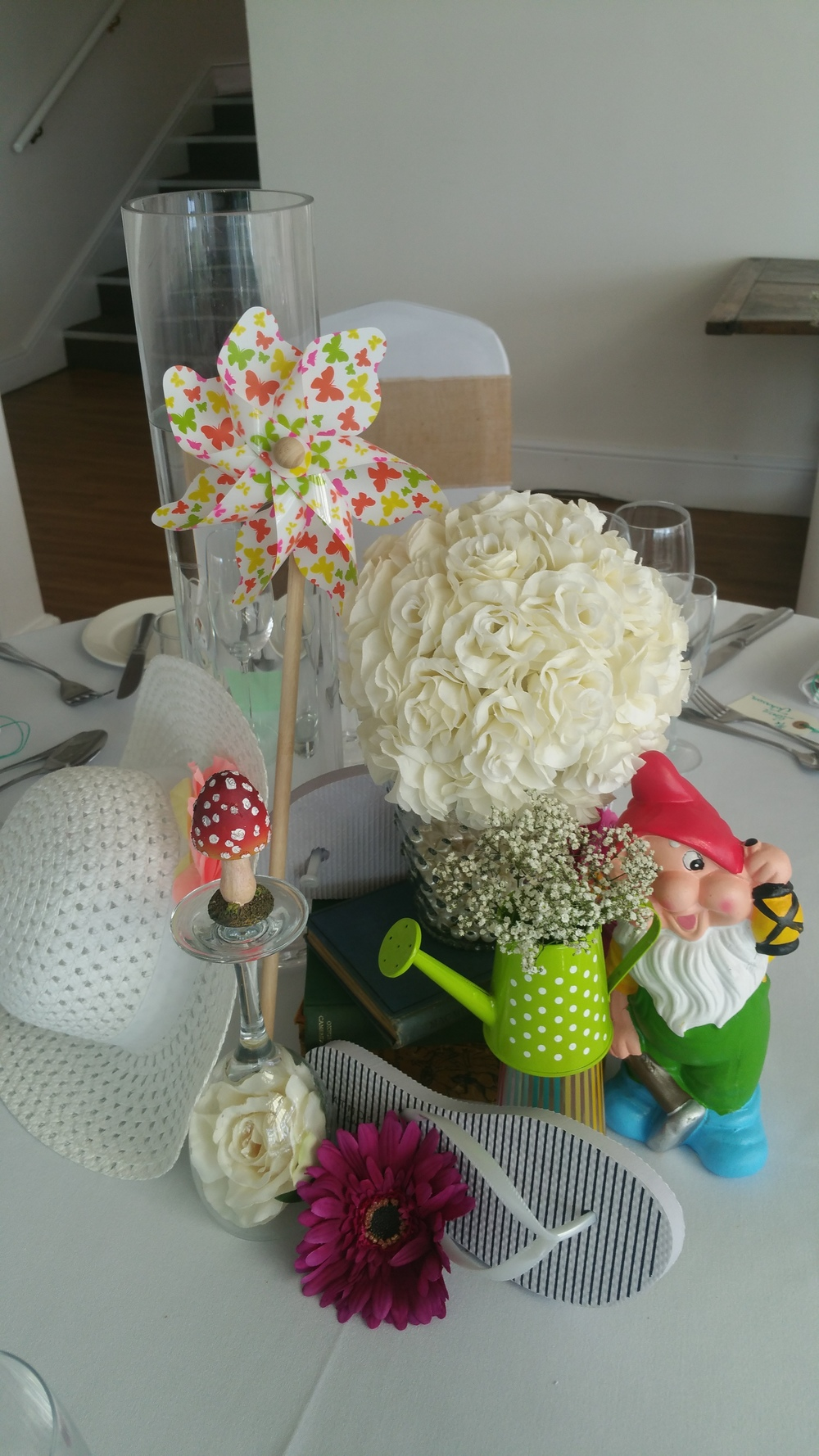 Garden Party Tablescapes at a Ness Gardens wedding
