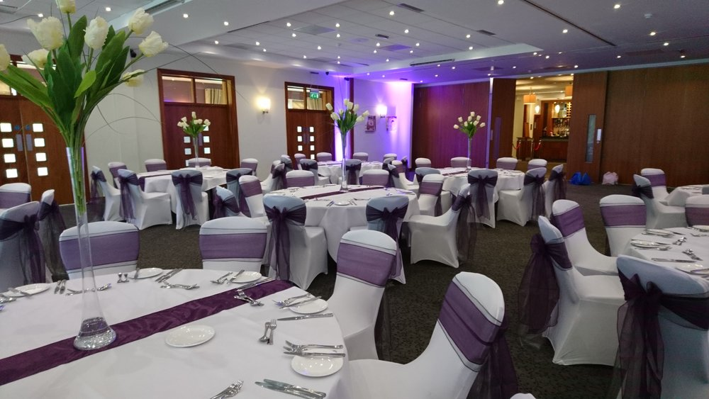 Chair Covers - Our chair covers come in most colours and start from as little as £2.50 per chair (including fitting) with a sash or hood of your choice. Our covers are washed after every event and sashes hand pressed for that perfect finish.