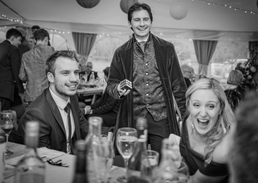 We've got the magic!  - Magic brings the kid out in us all which means it's perfect for any event; from weddings to corporate shindigs. Our very own Jay is at the top of his game and will leave and your guests open mouthed in amazement! Click here for more info and for your free, no-obligation quote!