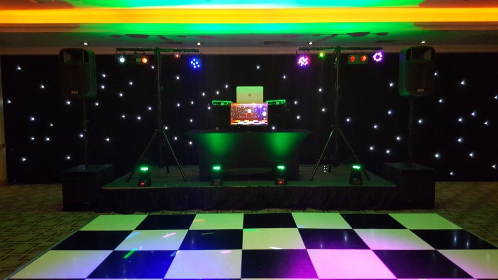 Music to your ears... - No celebration is complete without a theme tune and our very own Adam from Solarbeats will make sure you hit the right note every time. With music that you're in control of, lighting and led screens your guests won't want to sit for a second. Adam is available to work across the North West and North Wales and to get your quote just click here