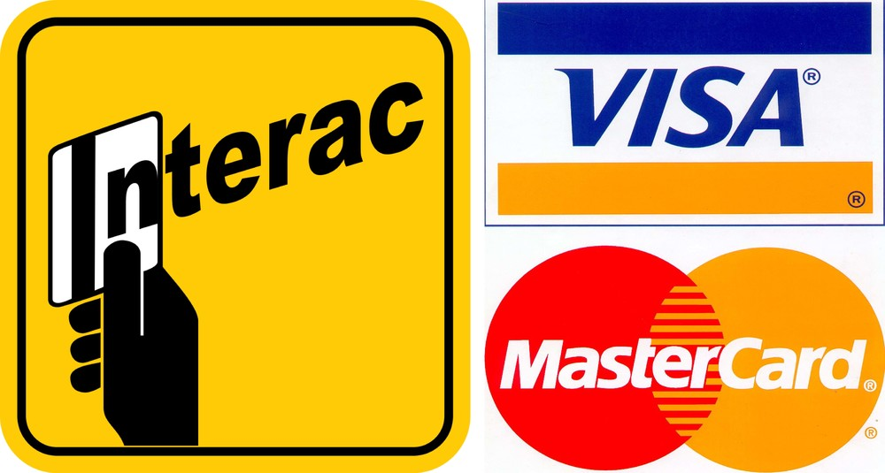 WE ACCEPT CREDIT + DEBIT