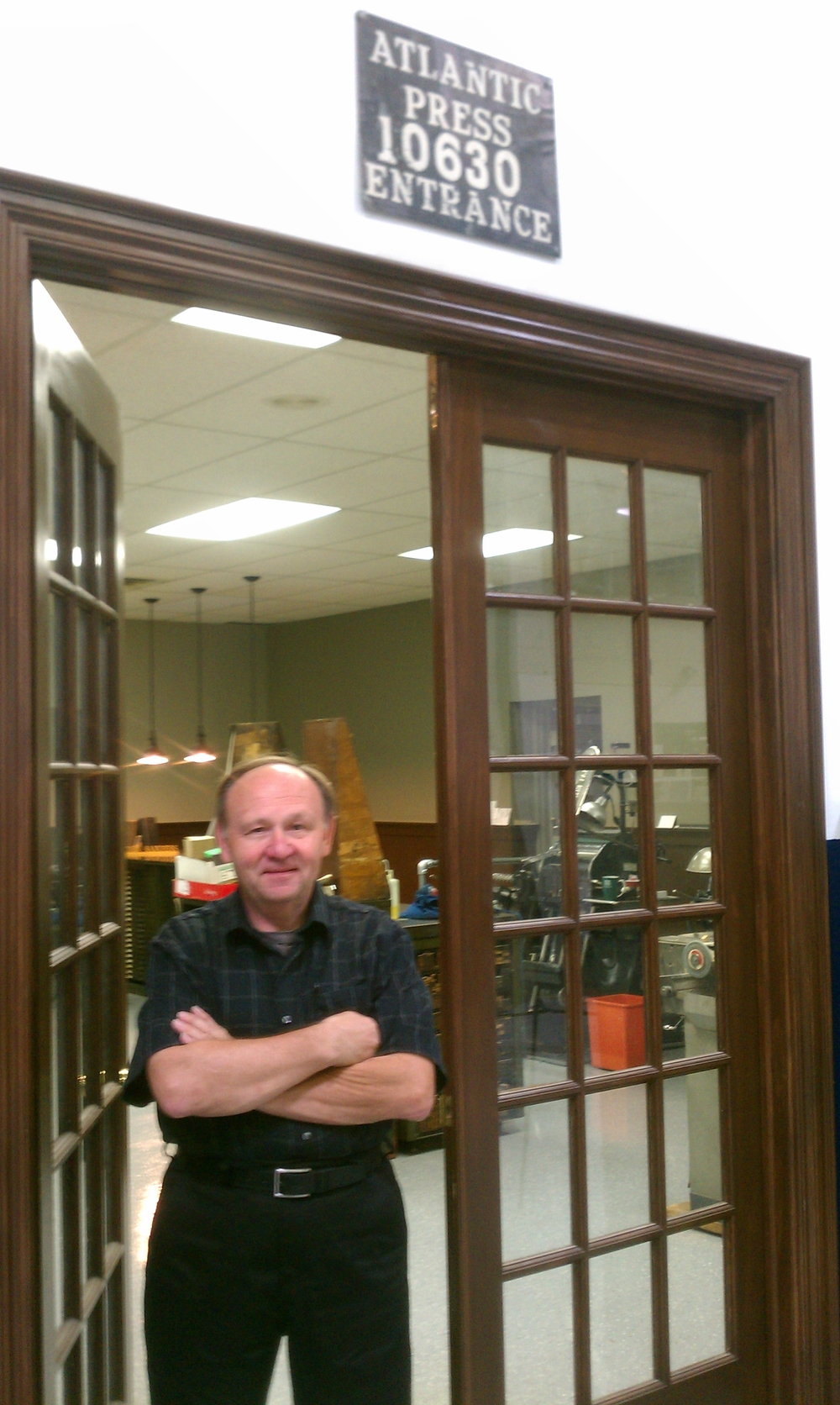 John W. Sanders, the Steve Jobs of Letterpress Printing, has been passionately printing for more than 42 years.