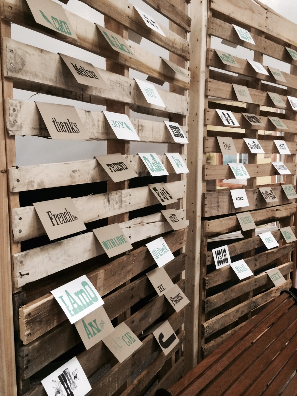Wall o Letterpress