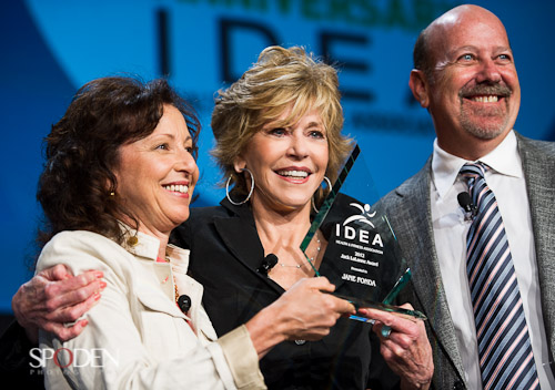 Jane Fonda IDEA San Diego Convention Image Photograph
