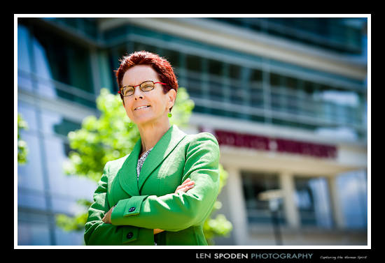 female woman executive portrait photographer Herndon VA