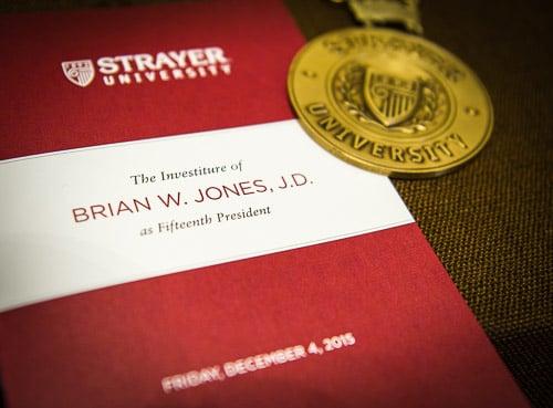 20151204 Strayer Brian Jones InvestitureCopyright 2015 Len  Spoden Photography.