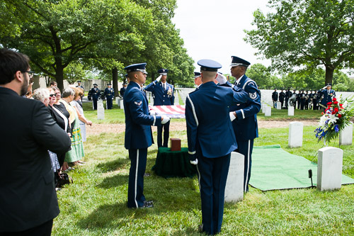 Arlington Cemetery Funeral Photographer