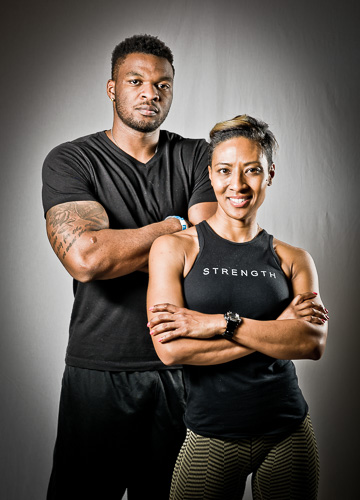 Personal Trainer Athletes / African American