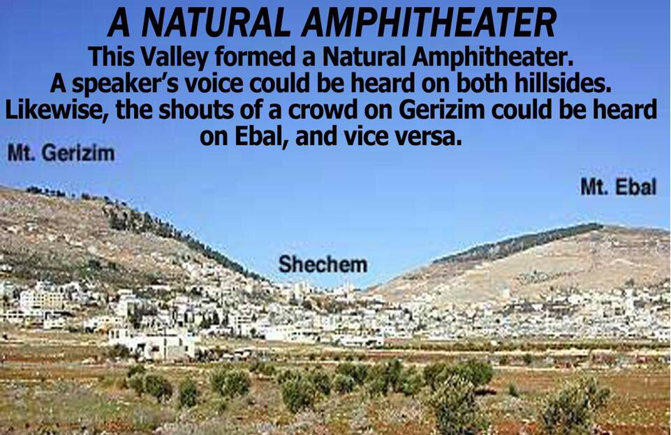 A detour at Shechem before Joshua picked back up with the Southern territories