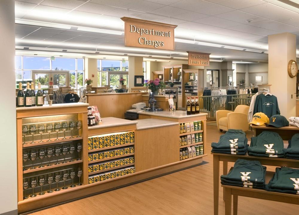 UVM Bookstore - University of Vermont — College Store Design