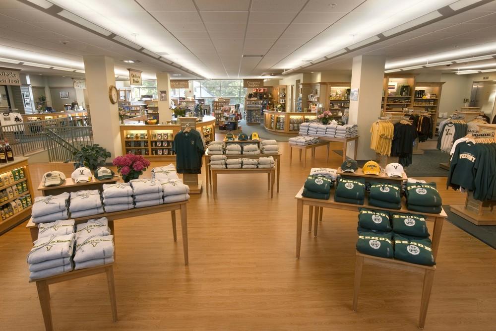 Uvm Bookstore University Of Vermont College Store Design