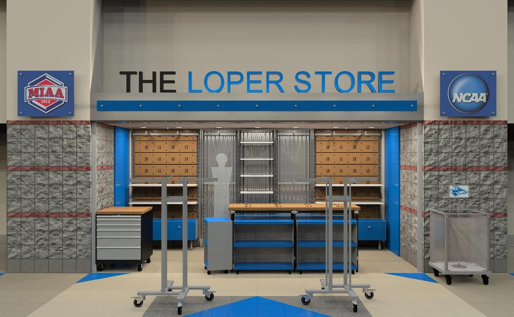 Loper Store University Of Nebraska At Kearney College Store Design