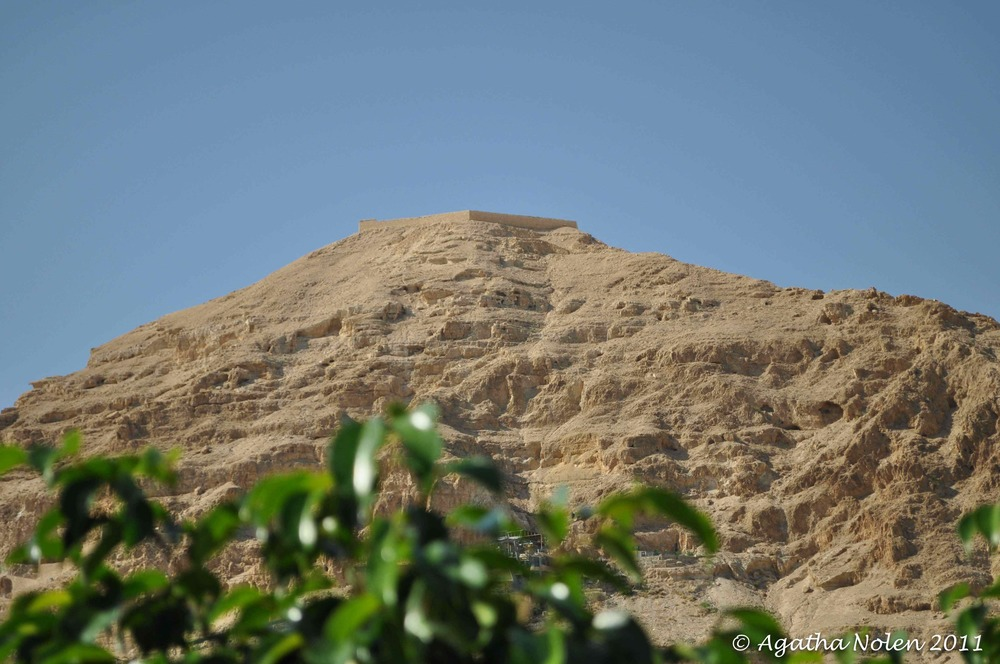 Mount of Temptation, Israel, 2011