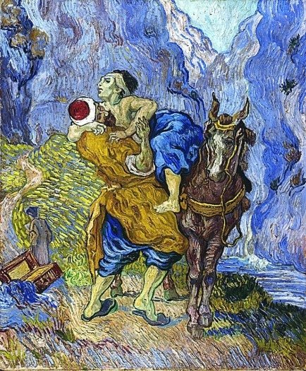 Van Gogh- The Good Samaritan- 1890