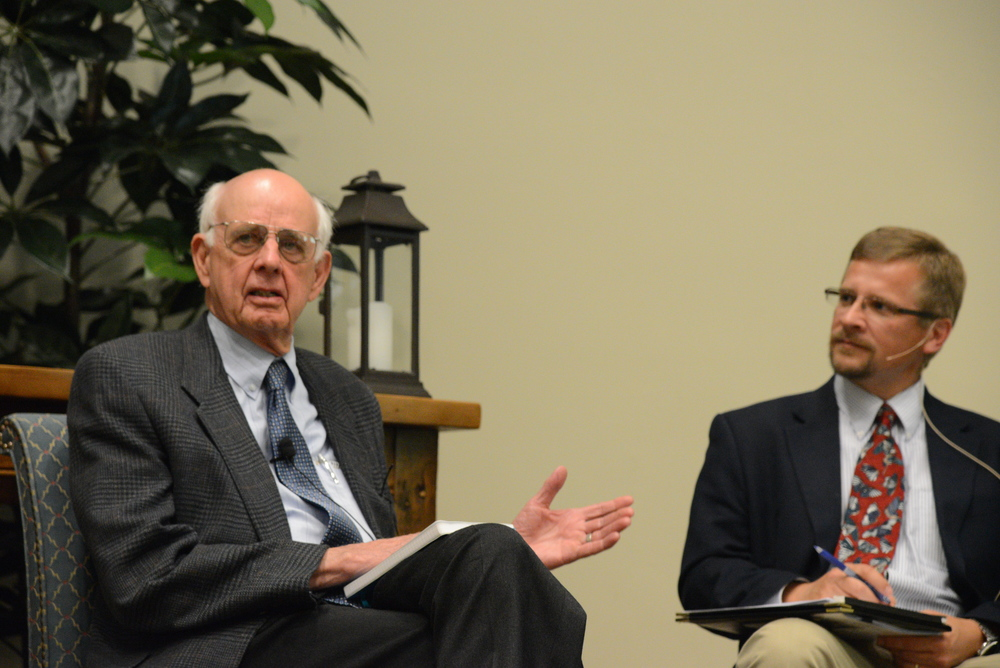 Wendell Berry and Prof. Norman Wirzba of Duke Divinity School