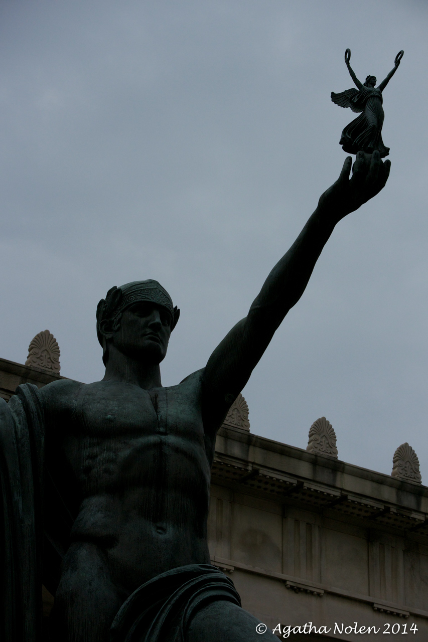 """Victory""- statue at Legislative Plaza, Nashville, TN"