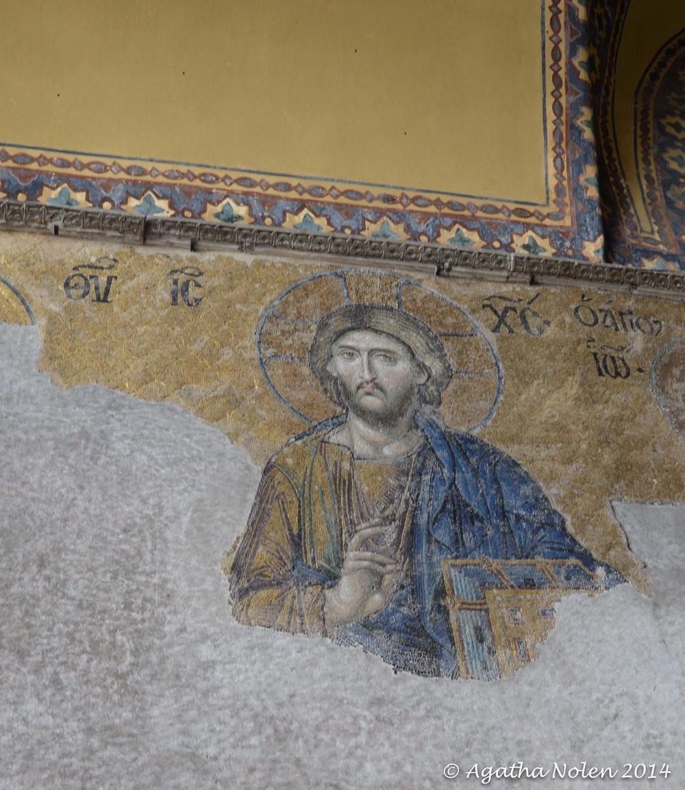 Christ Pantocrator, Hagia Sophia, Istanbul