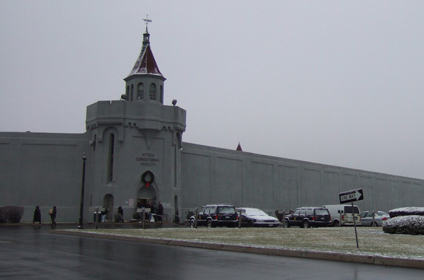 Attica Prison, Attica, NY. Photo by Jayu, Harrisburg, PA (2007)