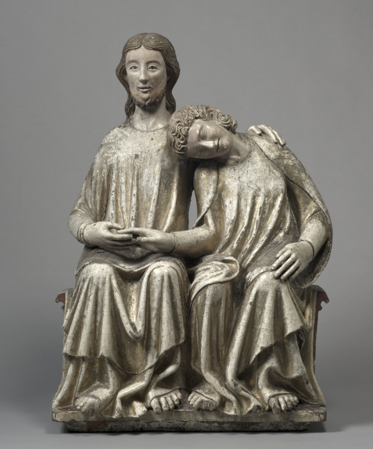 Christ and Saint John the Evangelist, 1300-1320 Cleveland Museum of Art