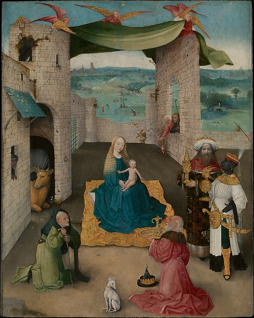 The Adoration of the Magi, Hieronymus Bosch, 1475, image courtesy of the Metropolitan Museum of Art