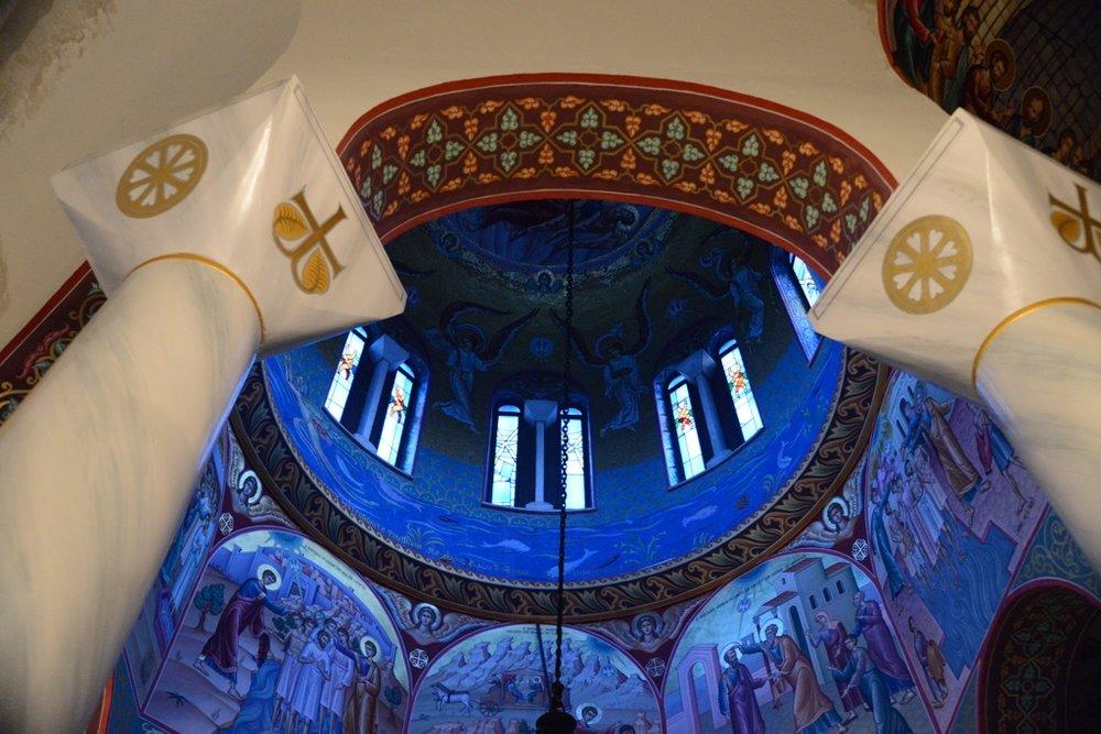 Church, House of Lydia, Kavala, Greece