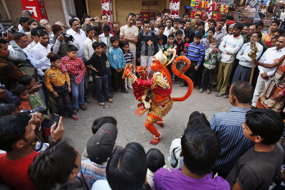 Hanuman's Dance
