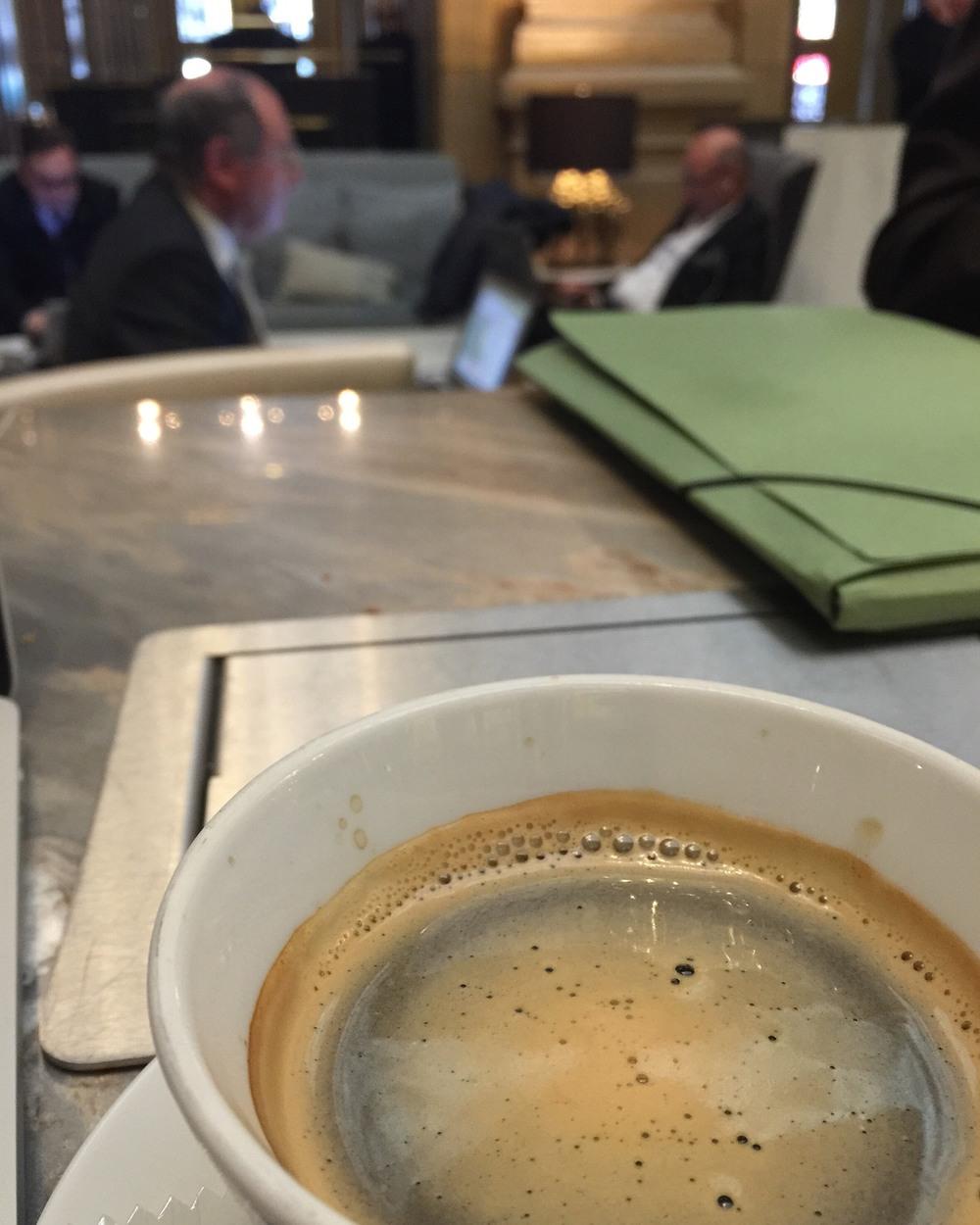 Hilton Paris Opera Coffee .JPG