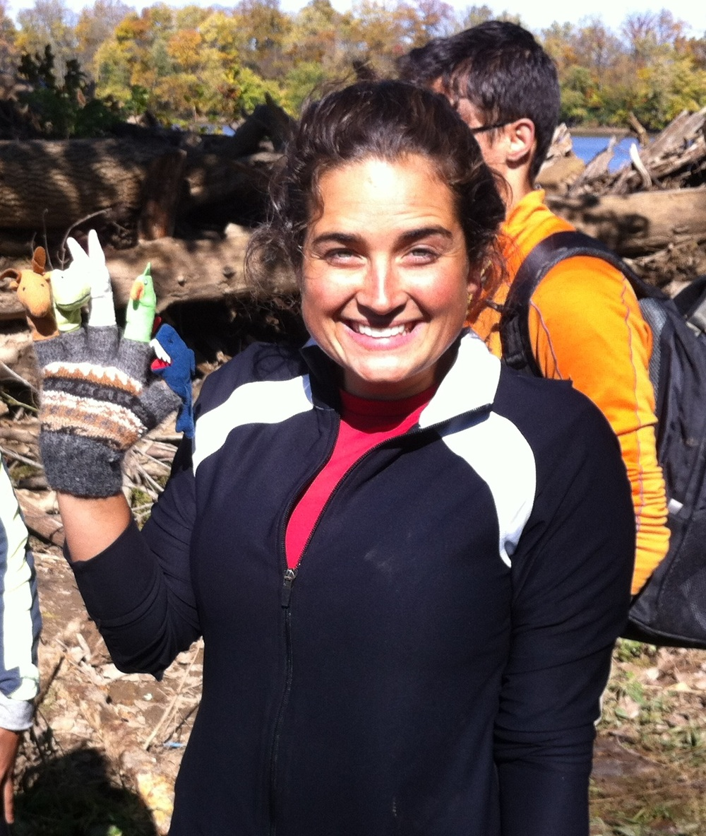 Natalie on WRA's Potomac Pilgrimage Trip