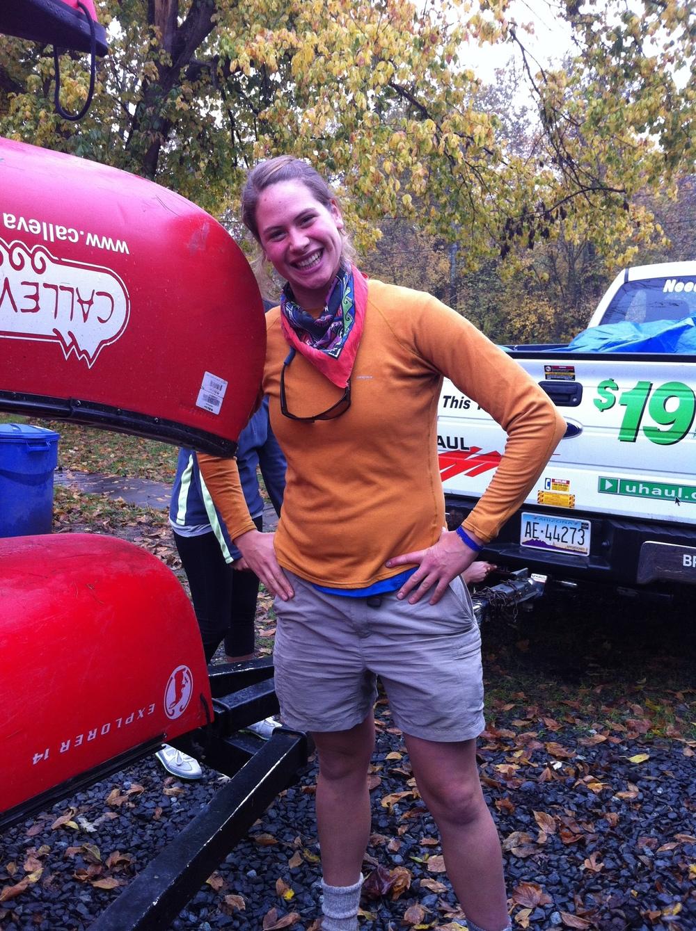 Anna on WRA's Potomac Pilgrimage Trip