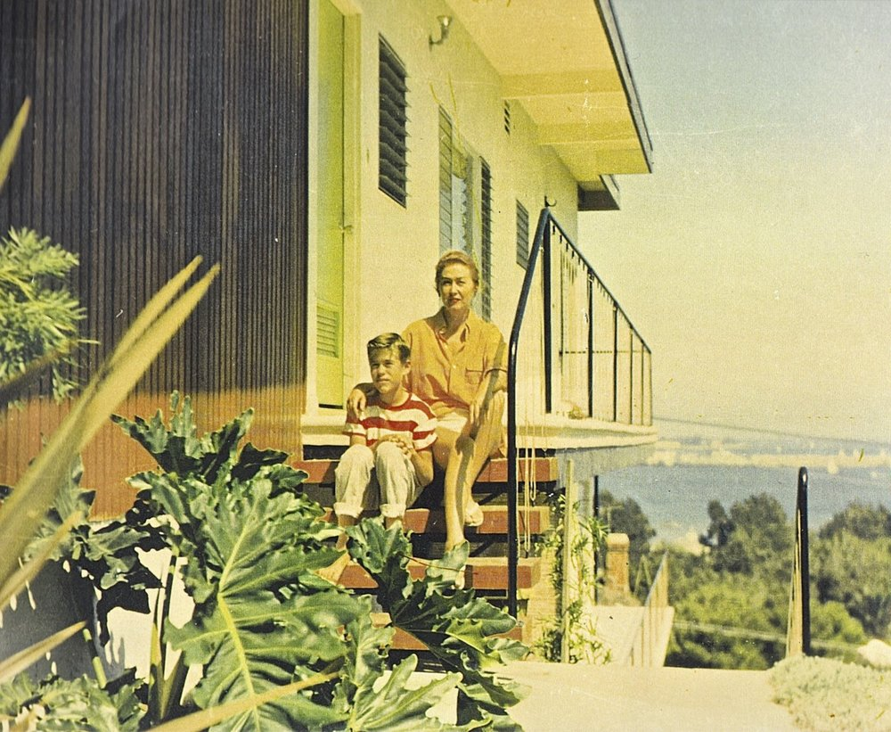 Tim and Susan Clark : San Pedro CA 1957