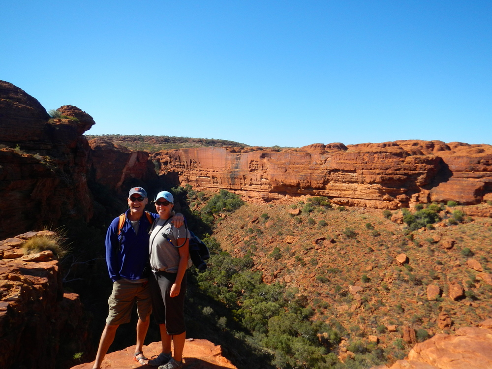 Us - Kings Canyon Rim Walk