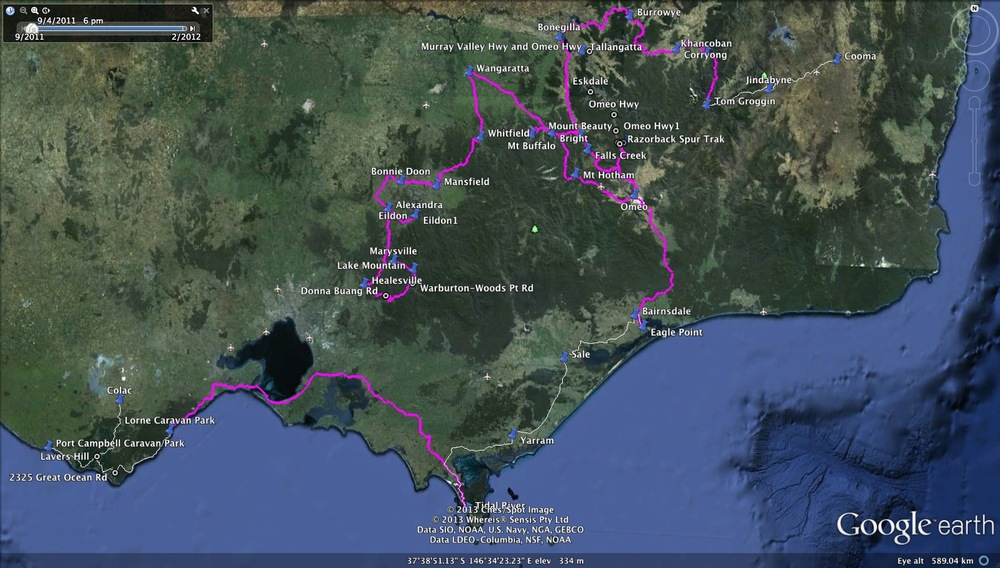 GOR proposed route.