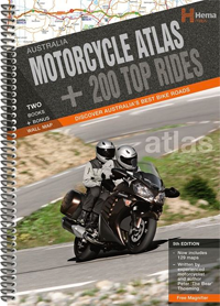Its full of great info and rides all over Oz.