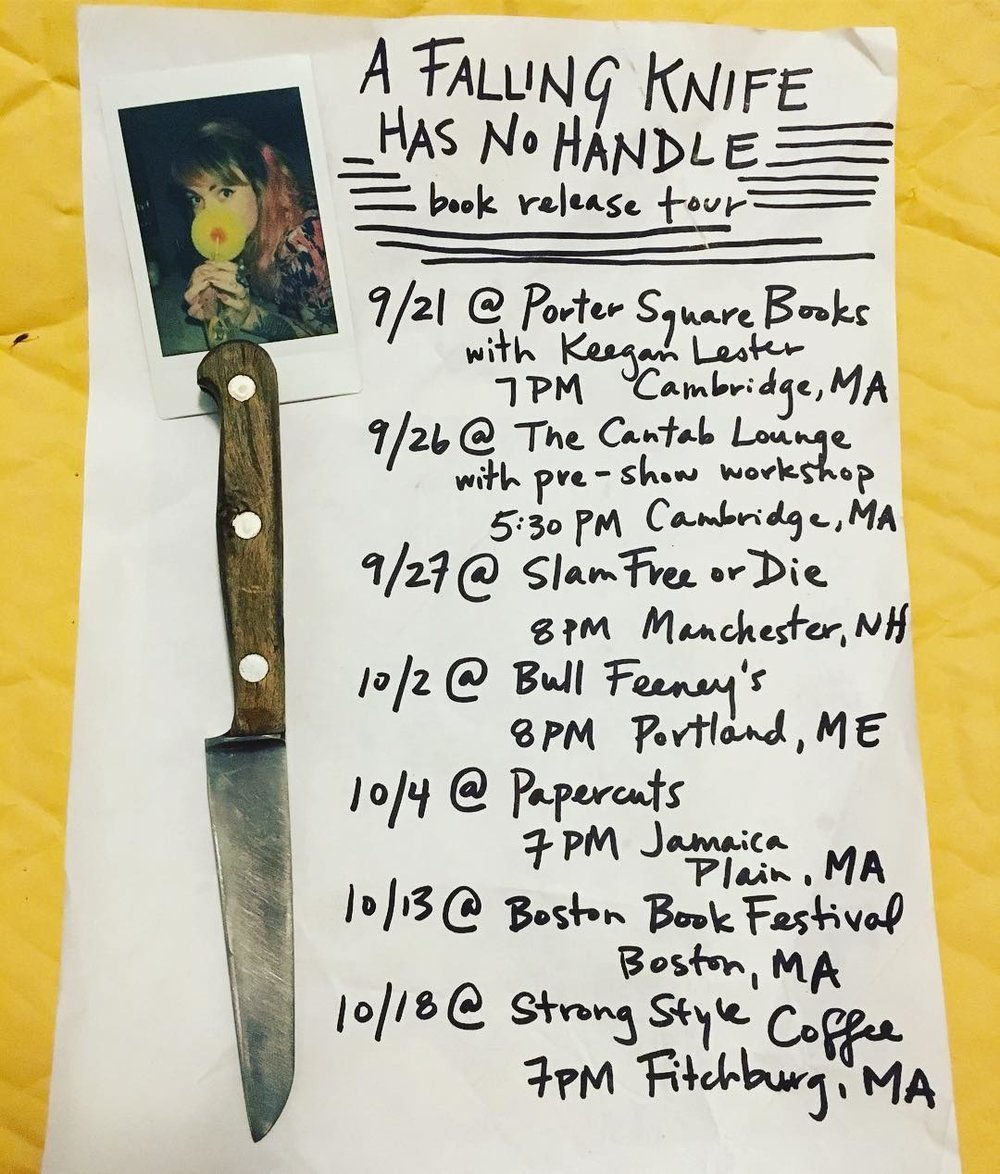falling knife fall tour