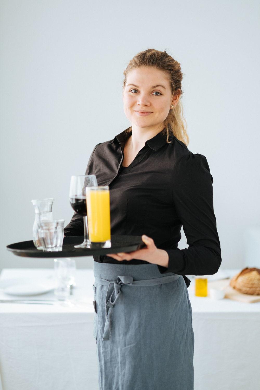 Waitress Commercial Photography